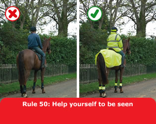Highway Code - Rule 50 Help Yourself To Be Seen