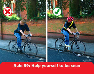 Highway Code - Rule 59 Help Yourself To Be Seen